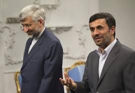 جلیلی یک قدم جلوتر از احمدی نژاد